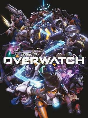 NEW The Art Of Overwatch By  BLIZZARD Hardcover Free Shipping