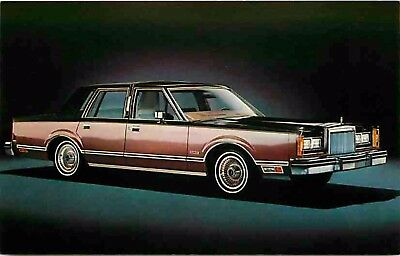 Advertising Postcard 1981? Lincoln Town Car