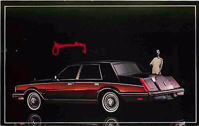 Advertising Postcard 1982 Lincoln Continental