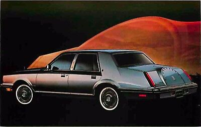 Advertising Postcard 1983 Lincoln Continental