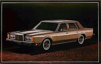 Advertising Postcard 1982 Lincoln