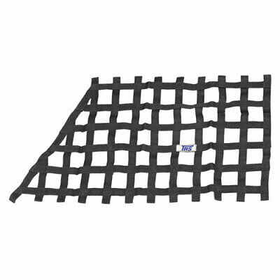TRS FIA Approved Race Rally Racing Car Window Safety Net - Black - Quarterlight