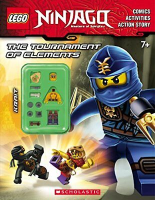 The Tournament of Elements (Lego Ninjago: Activity Book with Minifigure),PB, -