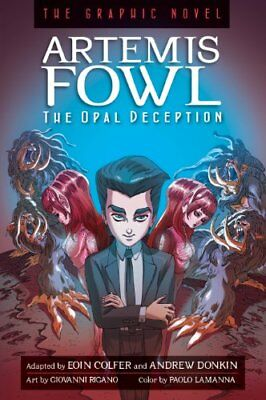 Artemis Fowl: The Opal Deception: The Graphic Novel,PB,Eoin Colfer - NEW