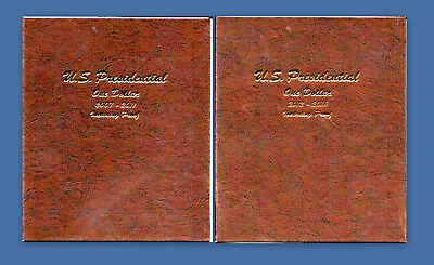 2007-2016 COMPLETE P D and S BU and Proof Presidential Dollar Set-Dansco Albums