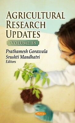 Agricultural Research Updates, 9781536108972