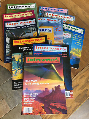 Interzone Special Deal - any 12 issues just £15.00 plus postage