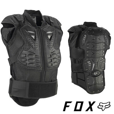 FOX TITAN SPORT SLEEVESLESS BODY ARMOUR PROTECTION JACKET chest DOWNHILL MTB AM