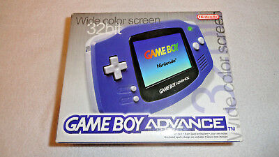 Boxed Nintendo Game Boy Advance With Boxed Games, Gwo.