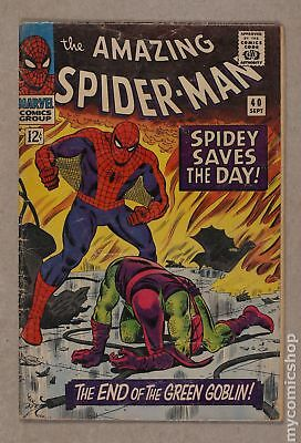 Amazing Spider-Man (1st Series) #40 1966 GD 2.0