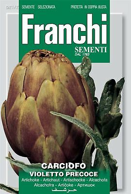 Franchi Seeds of Italy - Artichoke - Violetto Precoce - Seeds