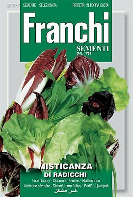 Franchi Seeds of Italy - Mixed Radicchio And Chicory Pack - Di Radicchi - Seeds