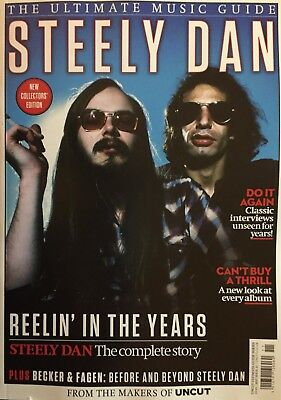 Steely Dan - The Uncut Ultimate Music Guide Magazine...new...fast Post