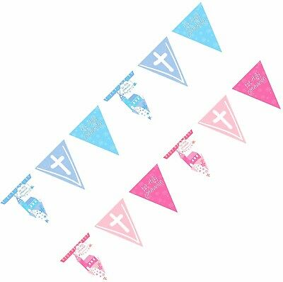 13ft 1st First Holy Communion Foil Pennant Flag Bunting Banner Party Decorations