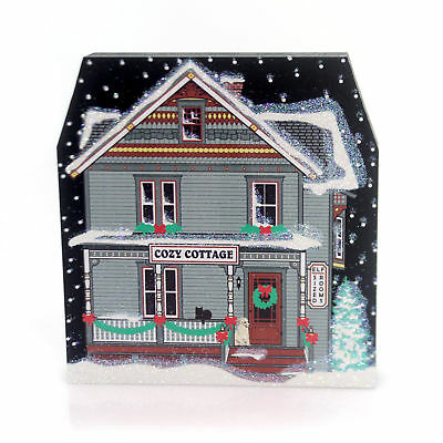 Cats Meow Village COZY COTTAGE ELF SIZE ROOMS Wood 2016 North Pole Series 16922