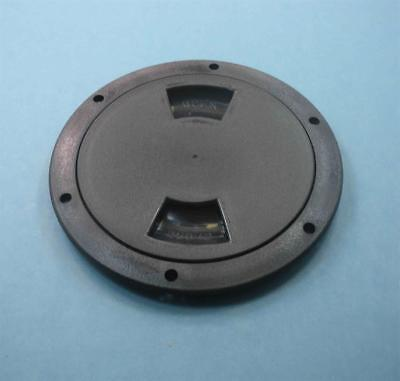 "Attwood 12793-1 Inspection Deck Plate 6"" Black 22923"