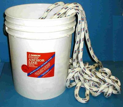 "Samson Super Strong Nylon Anchor Line Rope 5/8"" x 200 Made in USA 20053"