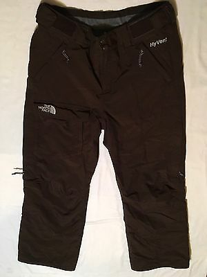 The North Face Size Small Women's Brown Hyvent Snowboard Ski Pants Insulated