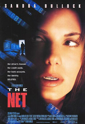 The Net Original Single-Sided One Sheet Rolled Movie Poster 27x40 NEW 1995