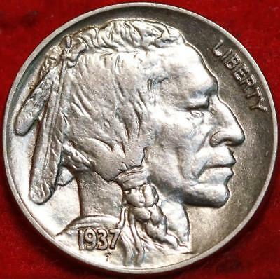 1937 Philadelphia Mint  Buffalo Nickel Free Shipping