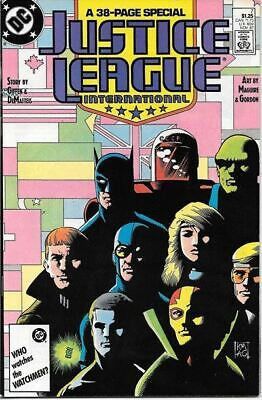 Justice League International Comic Book #7 DC Comics 1987 NEAR MINT NEW UNREAD