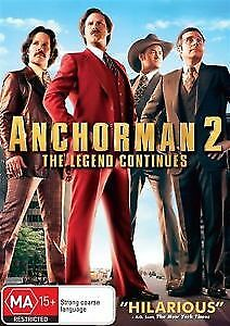 Anchorman 2 - The Legend Continues (DVD, 2014)