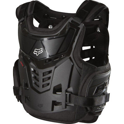 FOX YOUTH MOTOCROSS RAPTOR PROFRAME LC BODY ARMOUR BLACK chest back protector