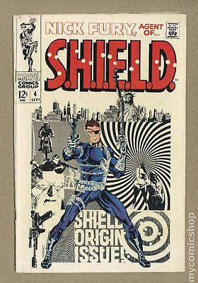 Nick Fury Agent of SHIELD (1st Series) #4 1968 GD/VG 3.0