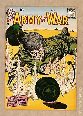 Our Army at War #63 1957 VG- 3.5