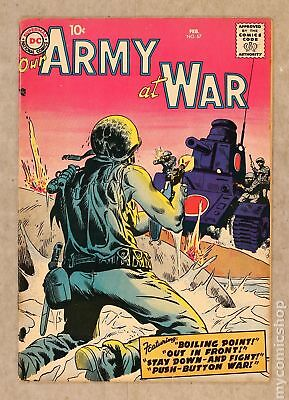 Our Army at War #67 1958 VG 4.0
