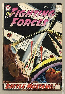 Our Fighting Forces #41 1959 VG- 3.5