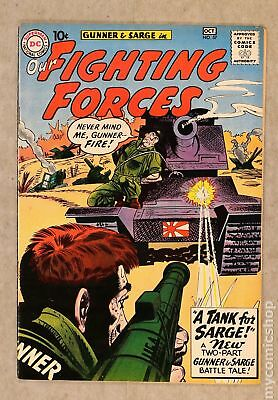 Our Fighting Forces #57 1960 FN 6.0