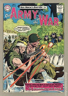 Our Army at War #144 1964 VF- 7.5
