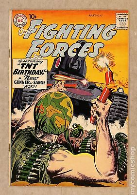 Our Fighting Forces #47 1959 VG/FN 5.0