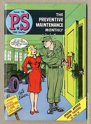 PS The Preventive Maintenance Monthly #126 1963 FN- 5.5
