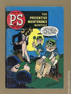 PS The Preventive Maintenance Monthly #136 1964 VG/FN 5.0