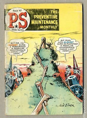 PS The Preventive Maintenance Monthly #47 1957 GD+ 2.5