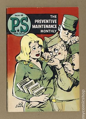 PS The Preventive Maintenance Monthly #48 1957 VG- 3.5