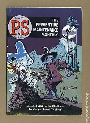 PS The Preventive Maintenance Monthly #49 1957 VG 4.0