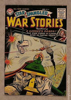 Star Spangled War Stories (DC) #3 to 204 #41 1956 VG 4.0