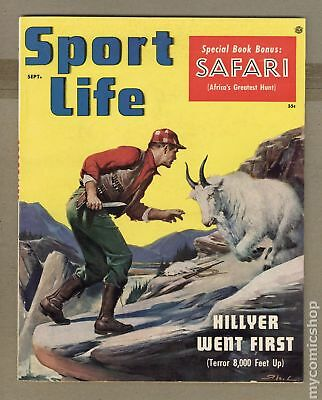 Sport Life Magazine (Official) Vol. 2 #3 1955 VG/FN 5.0