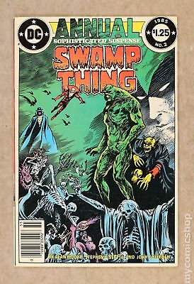 Swamp Thing (2nd Series) Annual #2 1985 FN- 5.5
