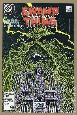 Swamp Thing (2nd Series) #52 1986 VF- 7.5