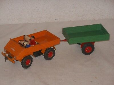 Vintage Tintoy Tipp & Co Mercedes Benz Unimog Blech West Germany Tippco - 2