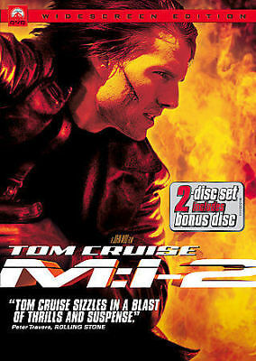 MISSION: IMPOSSIBLE II (DVD, 2006, 2-Disc Set) New / Sealed / Free Shipping