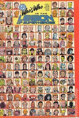 Who's Who in the Legion of Super-Heroes #7 1988 FN/VF 7.0 Stock Image