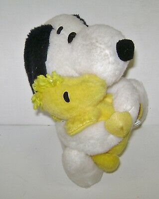 """Vintage Snoopy & Woodstock Plush Doll United Features Syndicate 8"""" Nice 1968"""