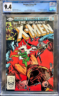 THE UNCANNY X-MEN #158 in NEAR MINT CGC 9.4 Marvel comic 1ST APPEARANCE OF ROGUE