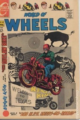 World of Wheels #25 1969 GD/VG 3.0 Stock Image Low Grade