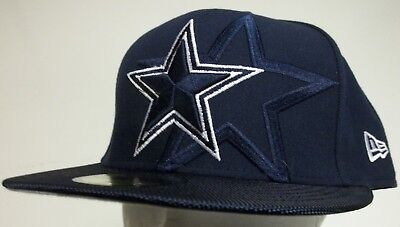 on sale 113dc e384e New Era 59Fifty Dallas Cowboys NFL Football Cap Hat 17 Sideline Men Fitted  7 1